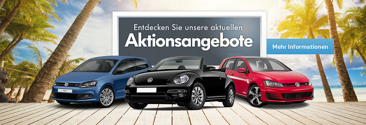VW Aktionsangebote