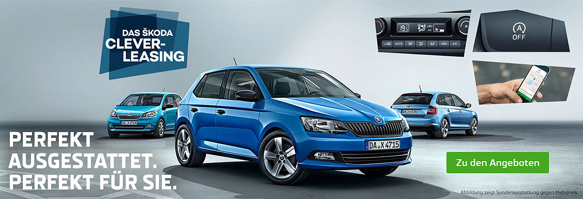 Skoda Clever Leasingaktion